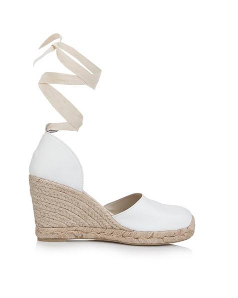 Rare Earth Chiara Ladies Wedge Heel -  white