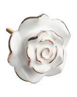 Gold Rim Rose -  white-gold