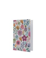 Growing Paper Pink Floral Card -  assorted