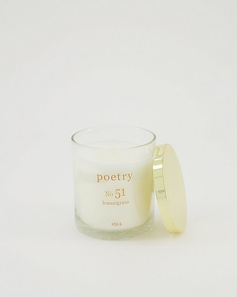 Lemongrass Candle -  assorted