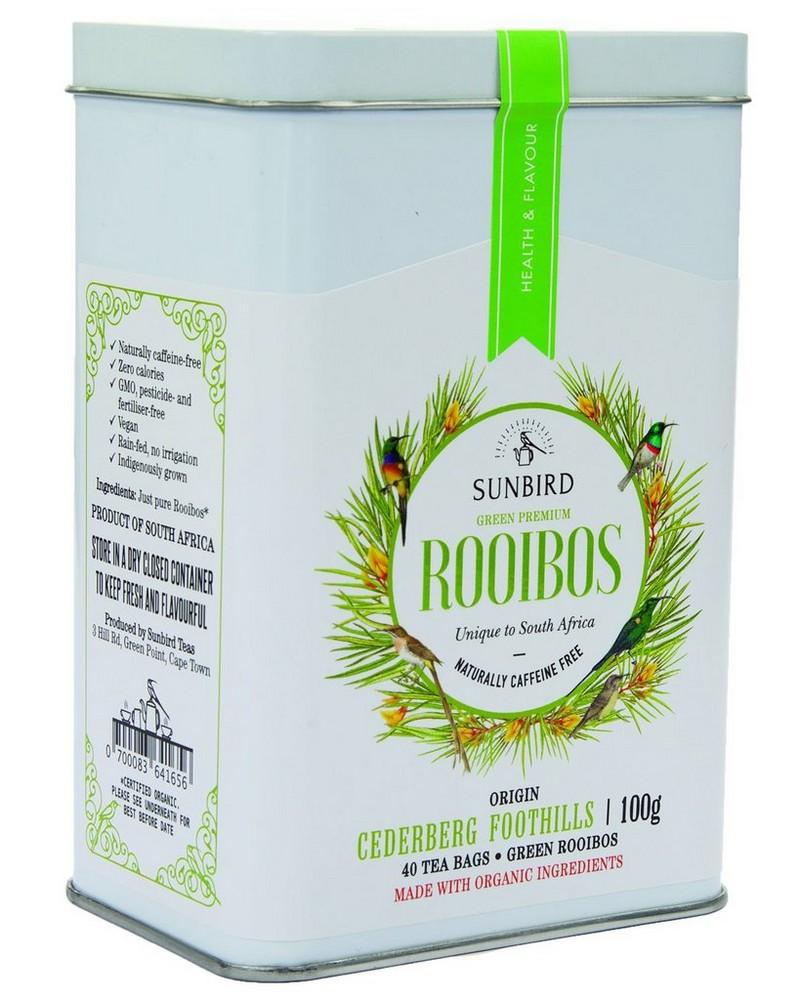 Sunbird Green Rooibos Tea -  cream