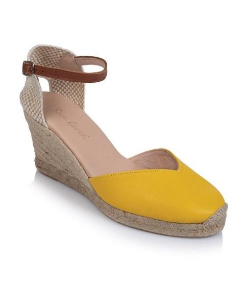 Rare Earth Valentina Wedge -  yellow