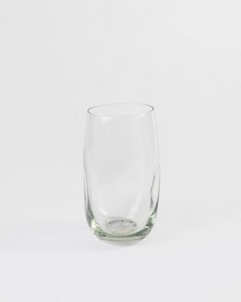 Ngwenya Squashed Tall Tumbler Glass -  nocolour