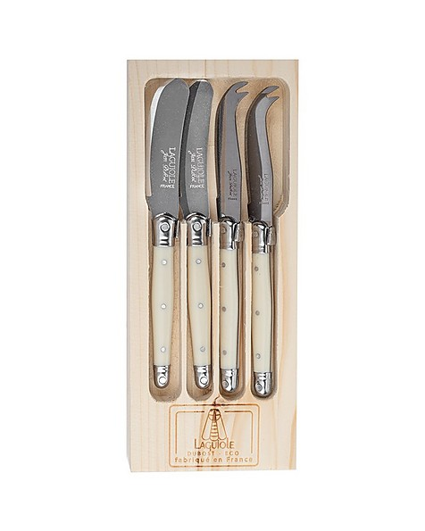 Laguiole Cheese Knife and Spreader Set -  bone