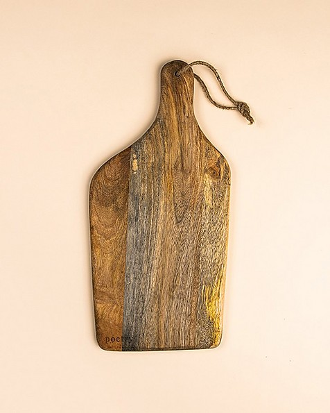 Wooden Organic Paddle Board -  brown