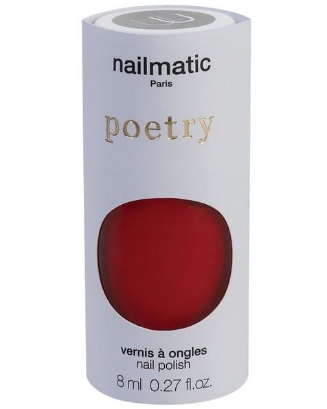 Nailmatic Amour Nail Polish -  red