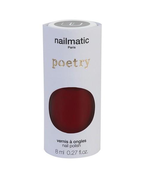 Nailmatic Kate Nail Polish -  darkred