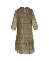 Poetry Zaira Pleated Dress -  navy
