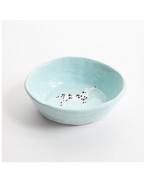 Gemma Orkin Dog Snack Bowl  -  blue