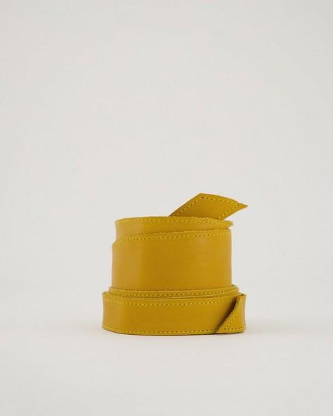Tamsin Waist Tie Belt -  ochre