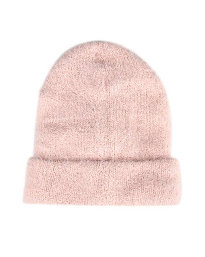 Tatum Turn Up Beanie -  pink