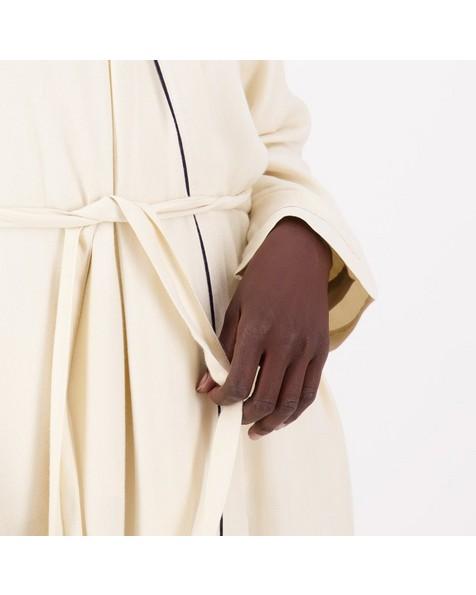 Louisa Warm Handle Gown -  milk