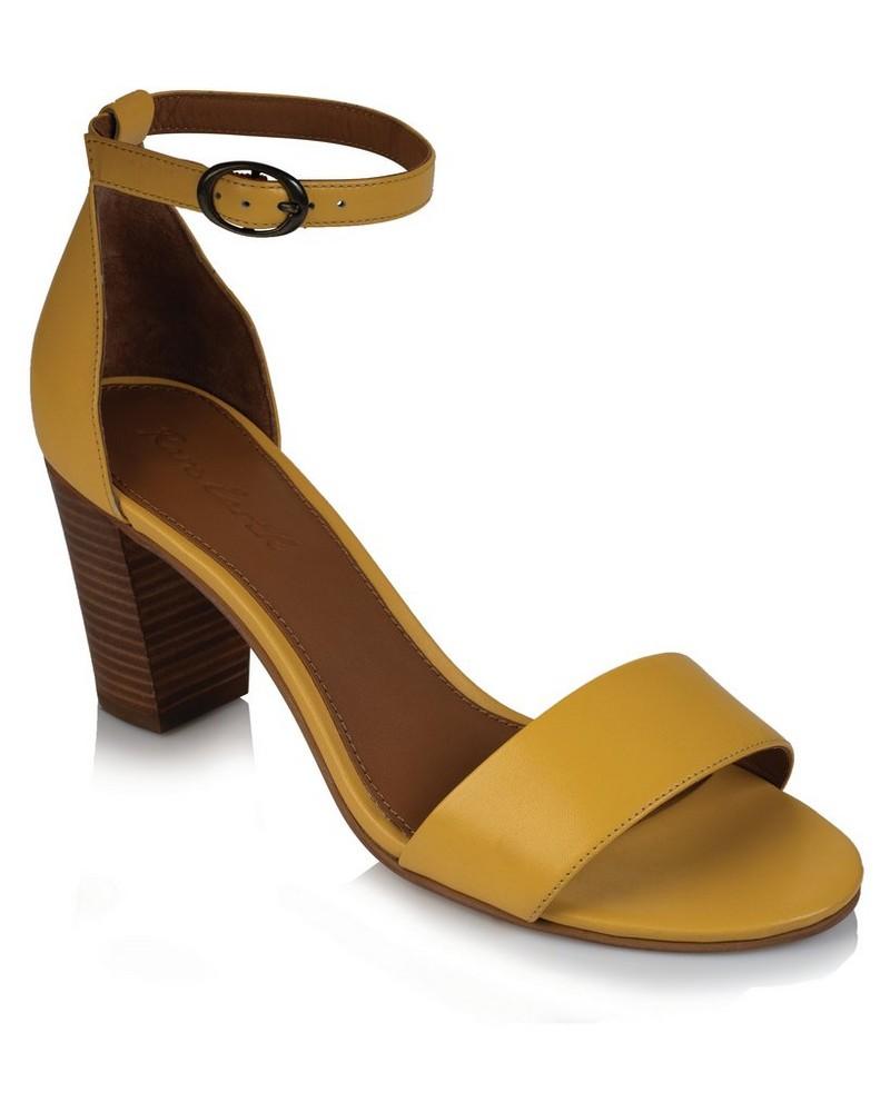 Rare Earth Kris Sandal (Ladies) -  yellow