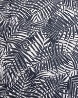 Jenny Palm Leaf Scarf -  navy-milk