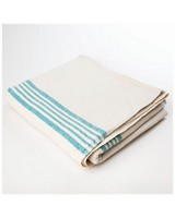 Barrydale French Country Teal Tablecloth -  stone-teal