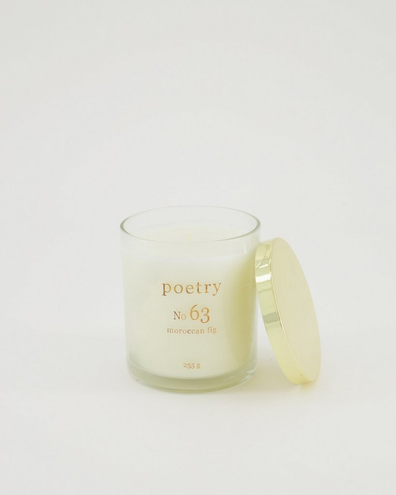 Moroccan Fig Candle -  assorted