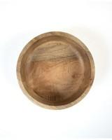 Medium White-Washed Mango Wood Bowl -  driftwood-white
