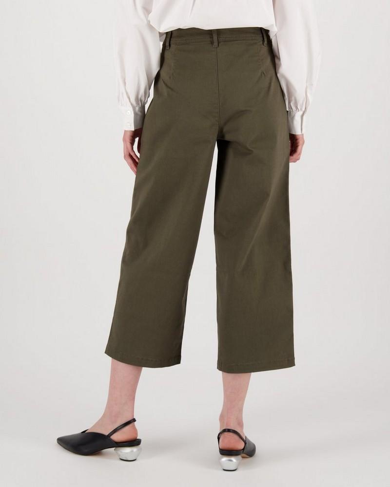 Oona Pants -  fatigue