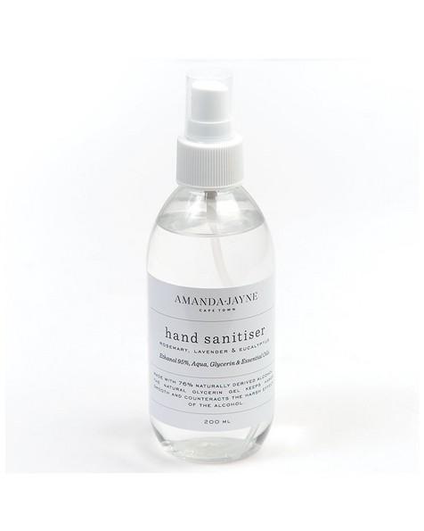 Amanda-Jayne Large Liquid Hand Sanitizer -  white