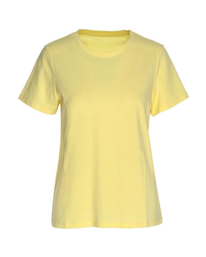 Des Cotton T-Shirt -  lemon