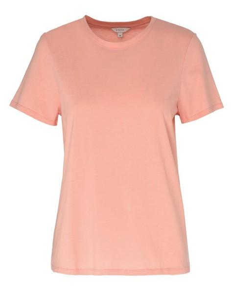 Des Cotton T-Shirt -  pink