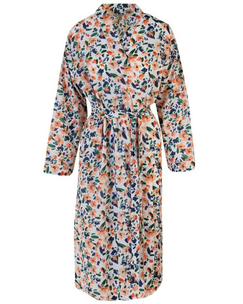 Mary-Lou Floral Gown -  pink-blue