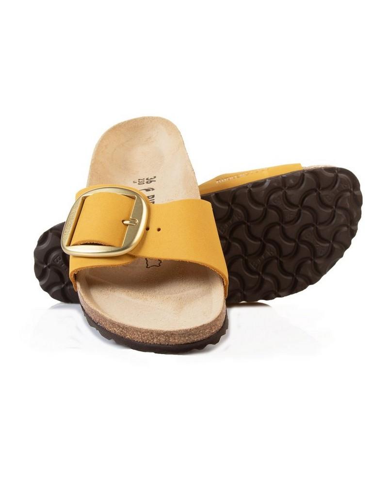 Birkenstock Madrid Big Buckle Sandal -  ochre