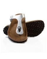Birkenstock Gizeh Sandal -  silver
