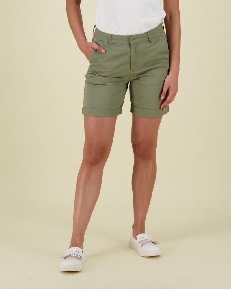 Landon Bermuda Shorts -  olive