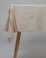 Barrydale Sunbaked Striped Tablecloth -  assorted