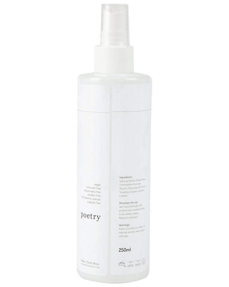 250ml Cocoon Sanitizing Mist -  white-brown