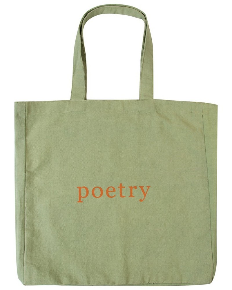 Sage Canvas Tote Bag -  sage-mustard