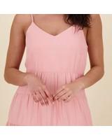 Blake Tier Dress -  pink