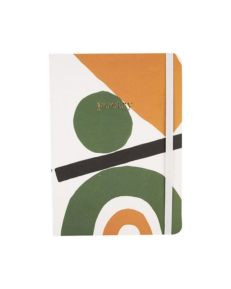Abstract Greens Notebook  -  assorted