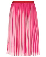 Janie Pleated Skirt -  pink