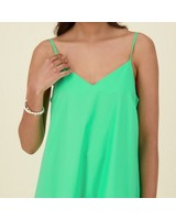 Weston Fit & Flare Dress -  green