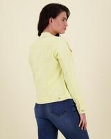 Shazzy Denim Jacket -  yellow