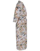Raelynn Floral Gown -  white-pink