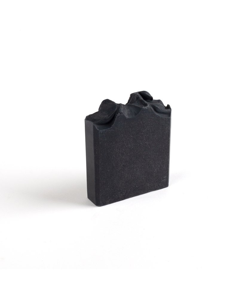 Activated Charcoal and Peppermint Soap -  black