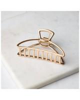 Senti Outline Bulldog Clip -  gold