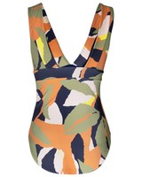 Hope One-Piece Swimsuit -  olive