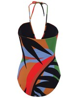 Ada One-Piece Swimsuit -  orange