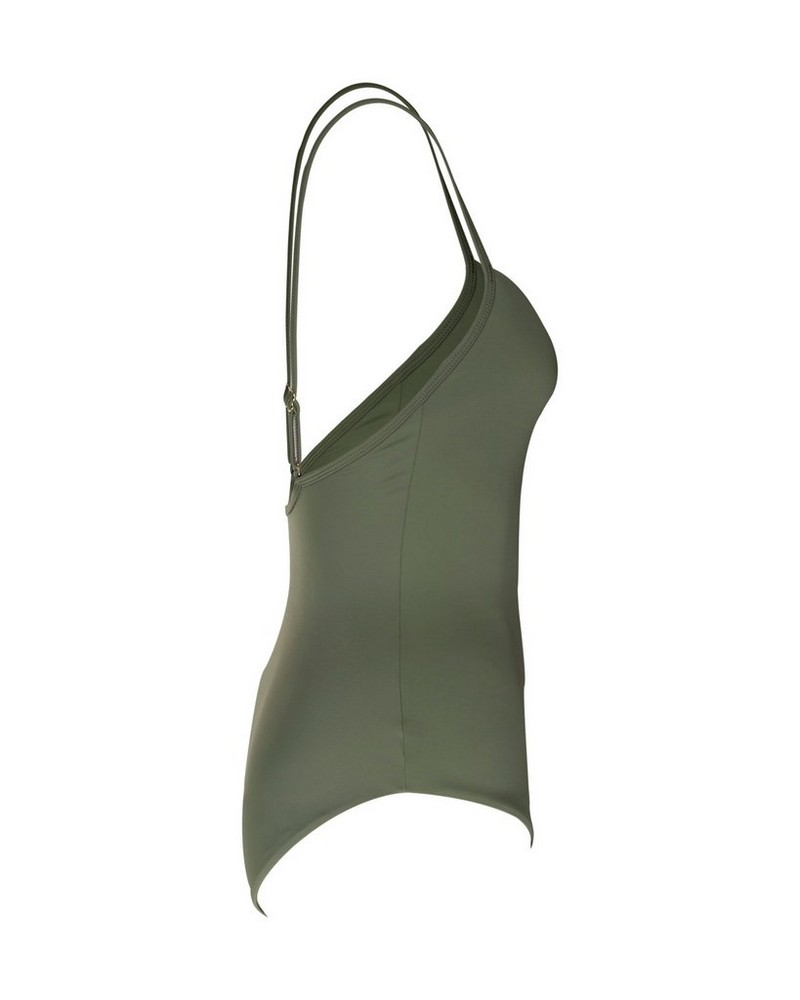 Grace One-Piece Swimsuit -  olive