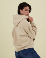 Nove Sweatshirt Hoodie -  stone