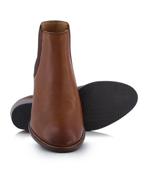Fan Boot -  tan