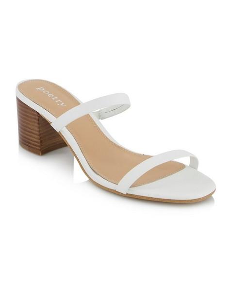 Minki Heel  -  white