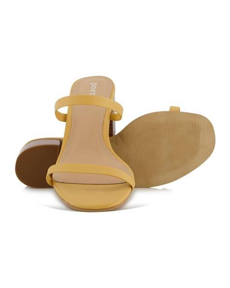 Minki Heel  -  yellow