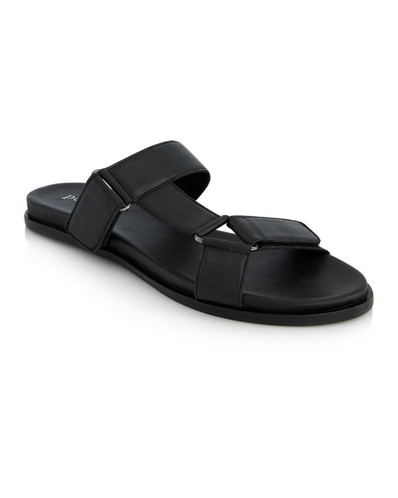 The Yara Sandal -  black
