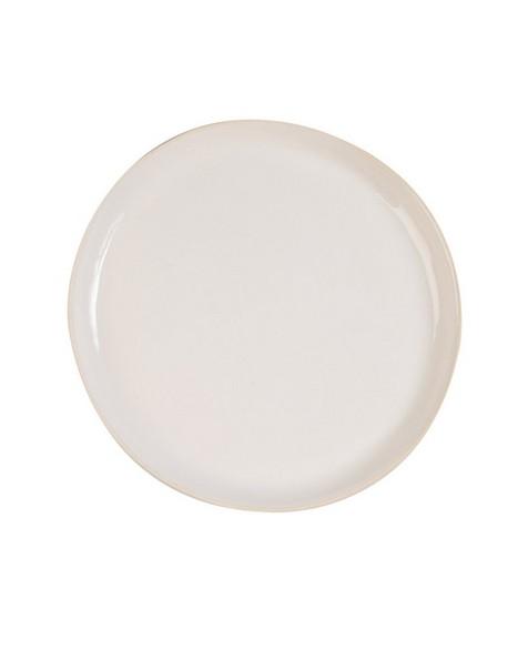 Wonki Ware Dinner Plate -  white