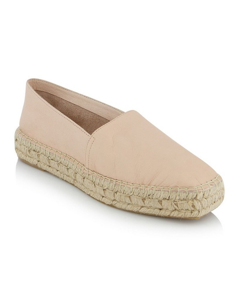 The Shelley Shoe -  cream